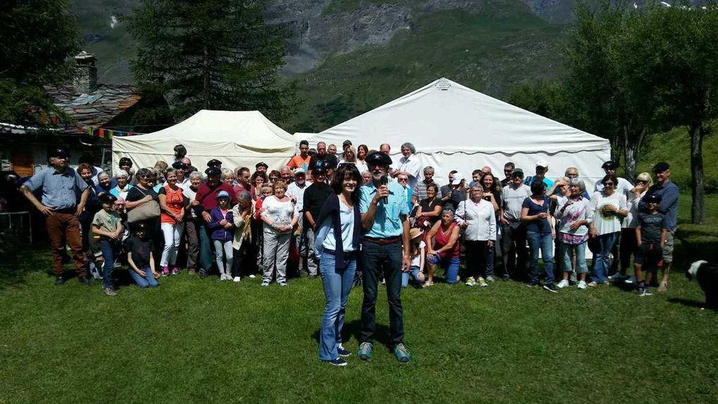 Bessans : la fête au hameau de La Goulaz
