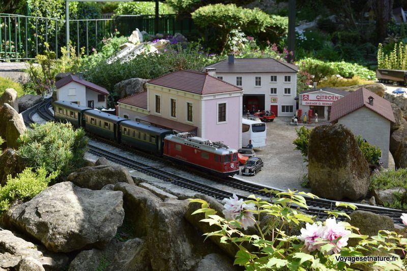 Le jardin ferroviaire de Chatte (38)
