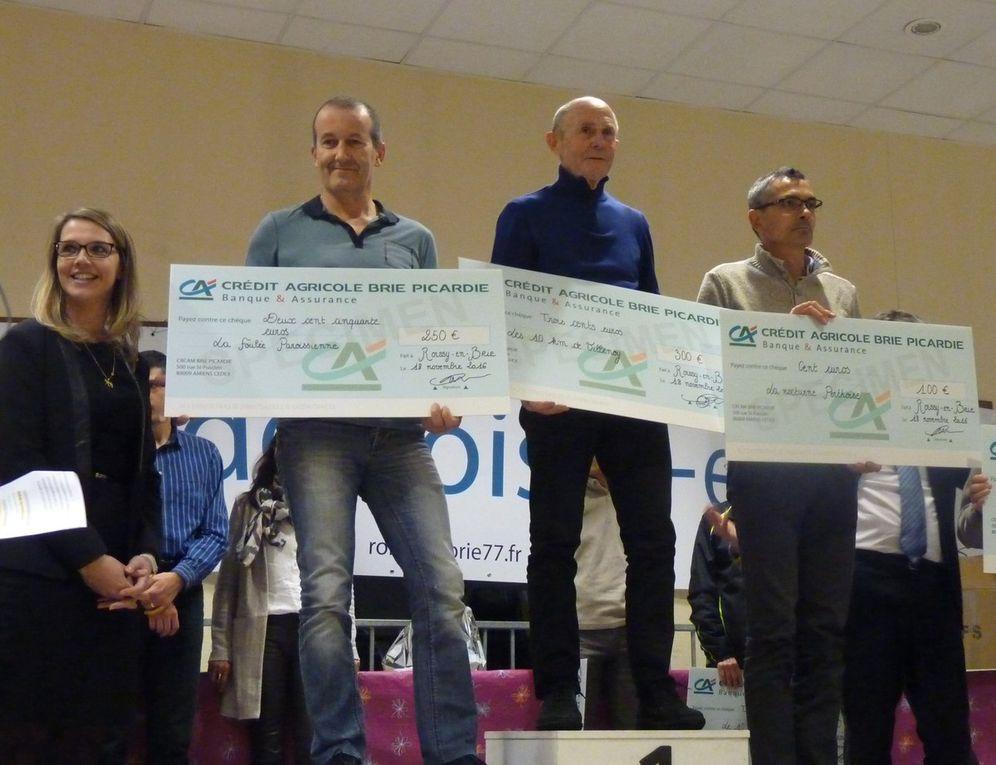 Remises des récompenses des Chpts et Challenges 2016 à Roissy en Brie le 18/11/2016