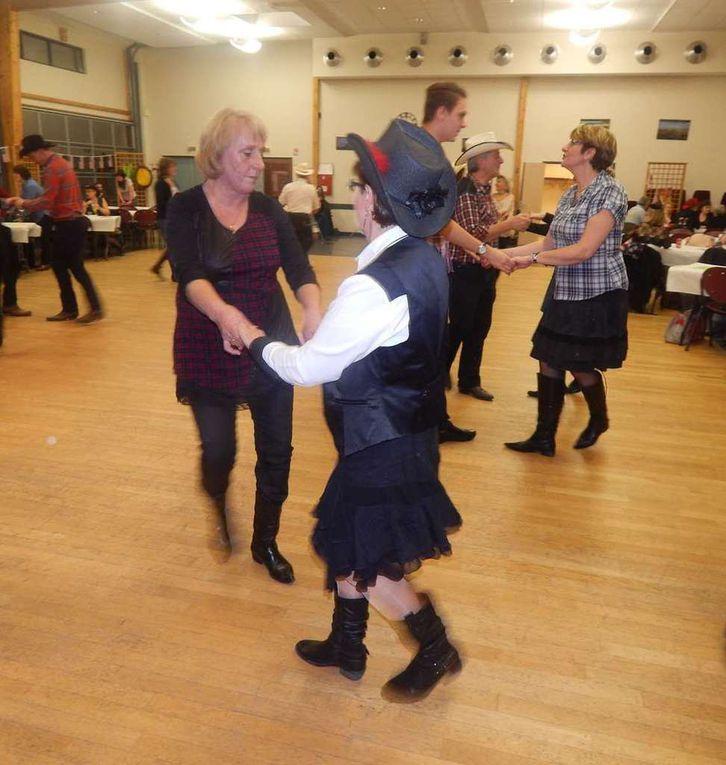 Bal organisé par les Ecoles de Chailly et Thimory et animé par Magali de l'OAC  Country de Chevillon, Belle soirée de country