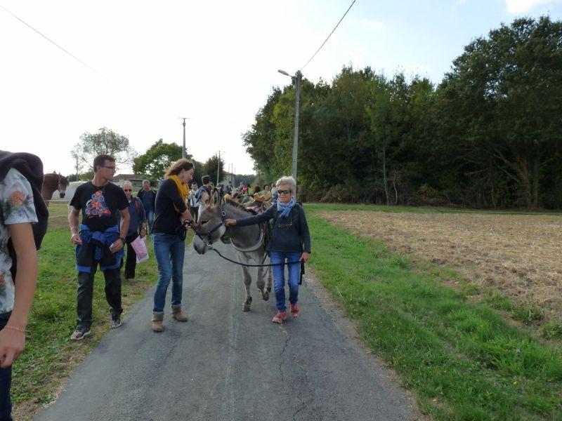 Superbe Journée avec de belles rencontres ! merci aux participants , à Aude, son mari et son fils et également aux ânes !