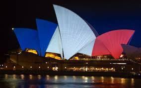 Martin Place dans le coeur de Sydney ou les gens se sont réunis Samedi soir...