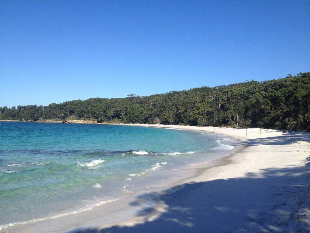 Deux jours avec Fred et Cath' dans un endroit que je trouve juste magnifique: Jervis Bay... La neuvième fois que j'y vais...
