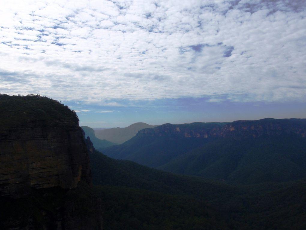 Premier jour... Départ et vue sur le canyon...