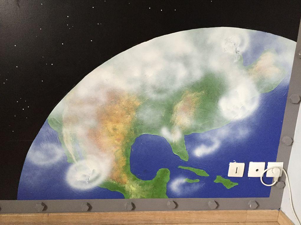 DIY: paye ta chambre d'astronaute, chambre de l'espace!