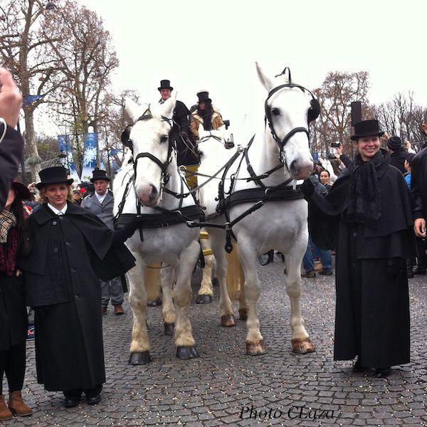 1er janvier 2016 sur les Champs Elysées