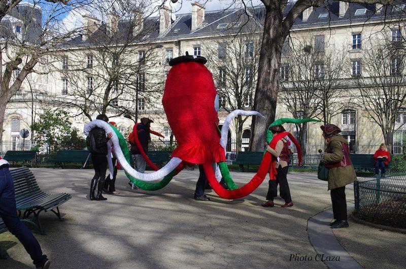 Tchipirone au Carnaval de Paris 2016