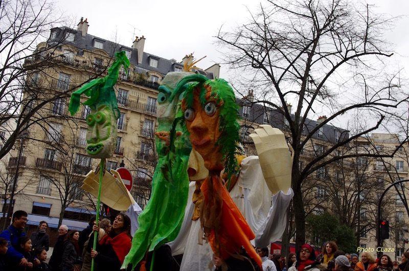 Carnaval de Paris 2017.