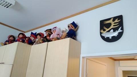 On ressent la tradition Saame dans toute l'école !