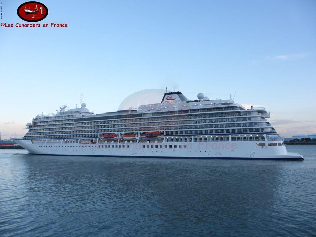 Départ du Viking Sea au Havre le 26/04/17.