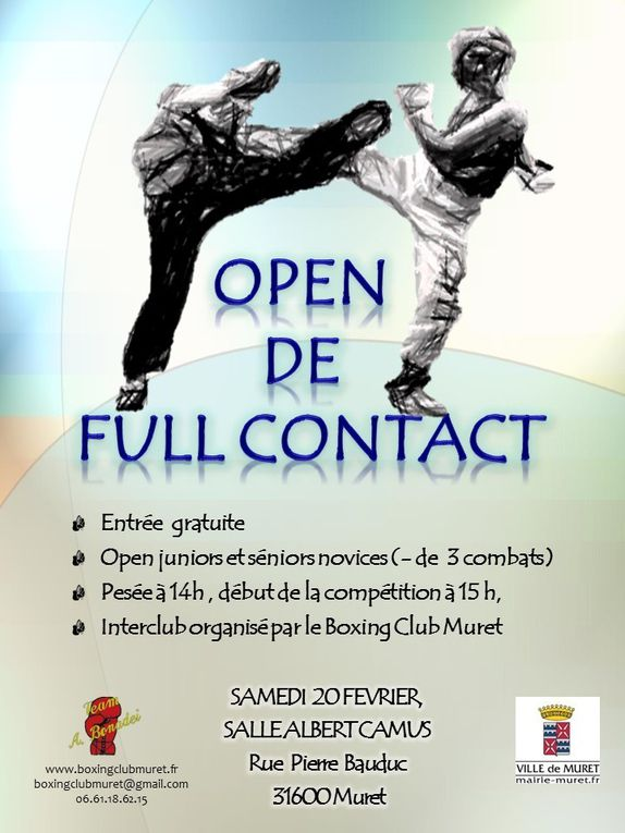 Open Full-Contact Février 2016