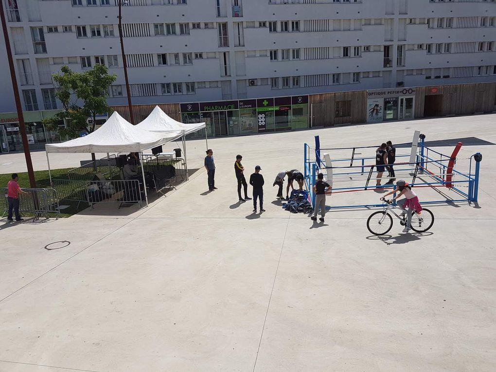 Un ring dans la rue - Square Maïmat Muret