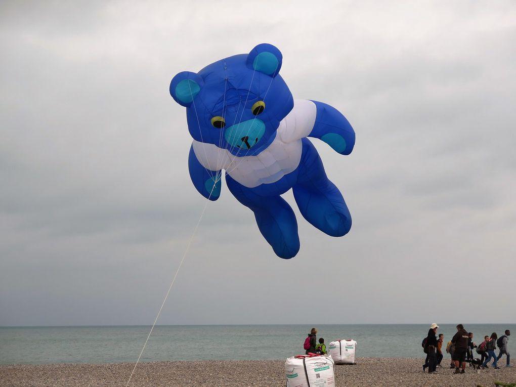 Cerfs-volants à Dieppe