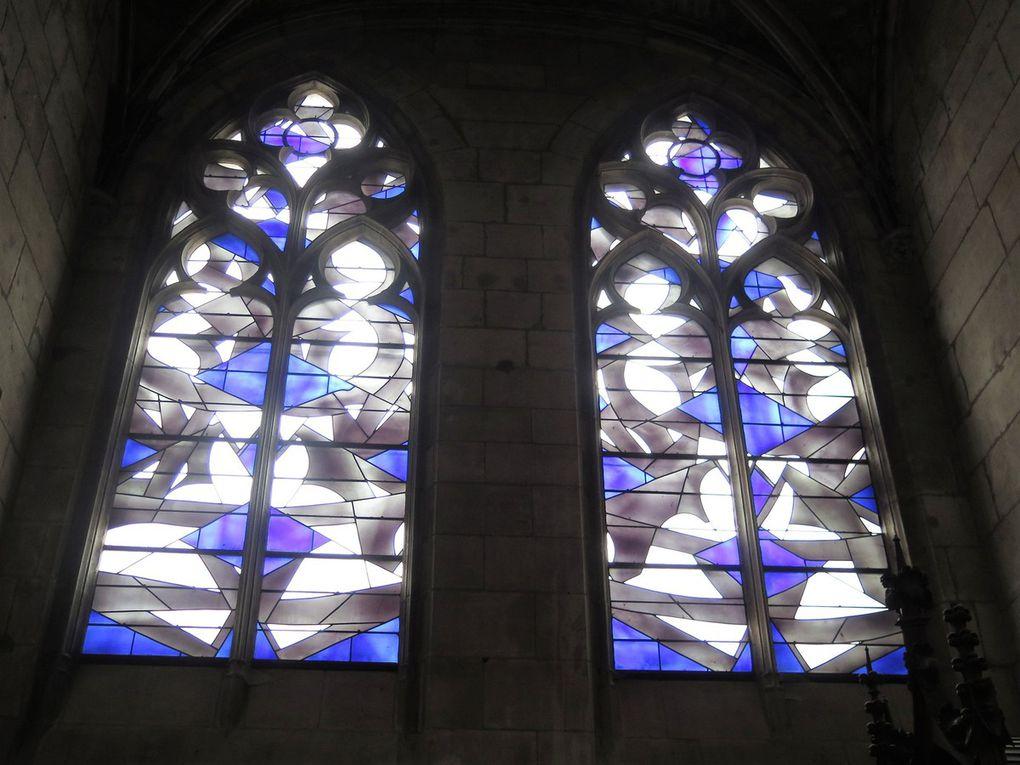 Les vitraux de Saint Cyr et Sainte Julitte