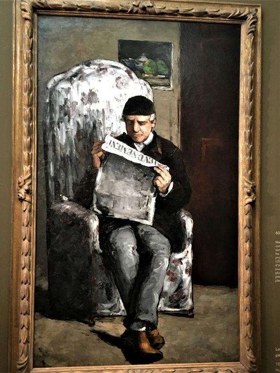 Portraits de Cézanne au musée d'Orsay