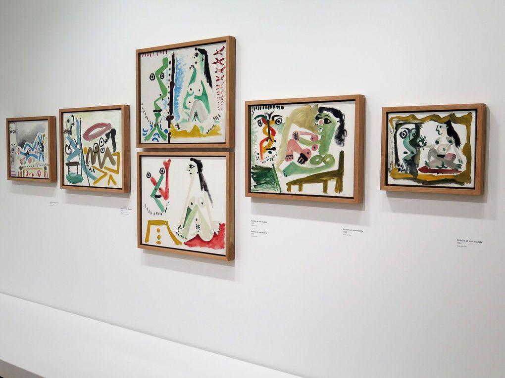 Peintre et son modèle 1964-1965