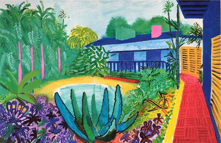 Rétrospective David Hockney au centre Pompidou