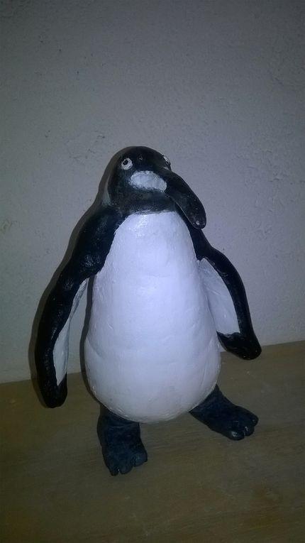 Le Pingouin de Janelle, le Loup de Diane, le Crocodile de Aure