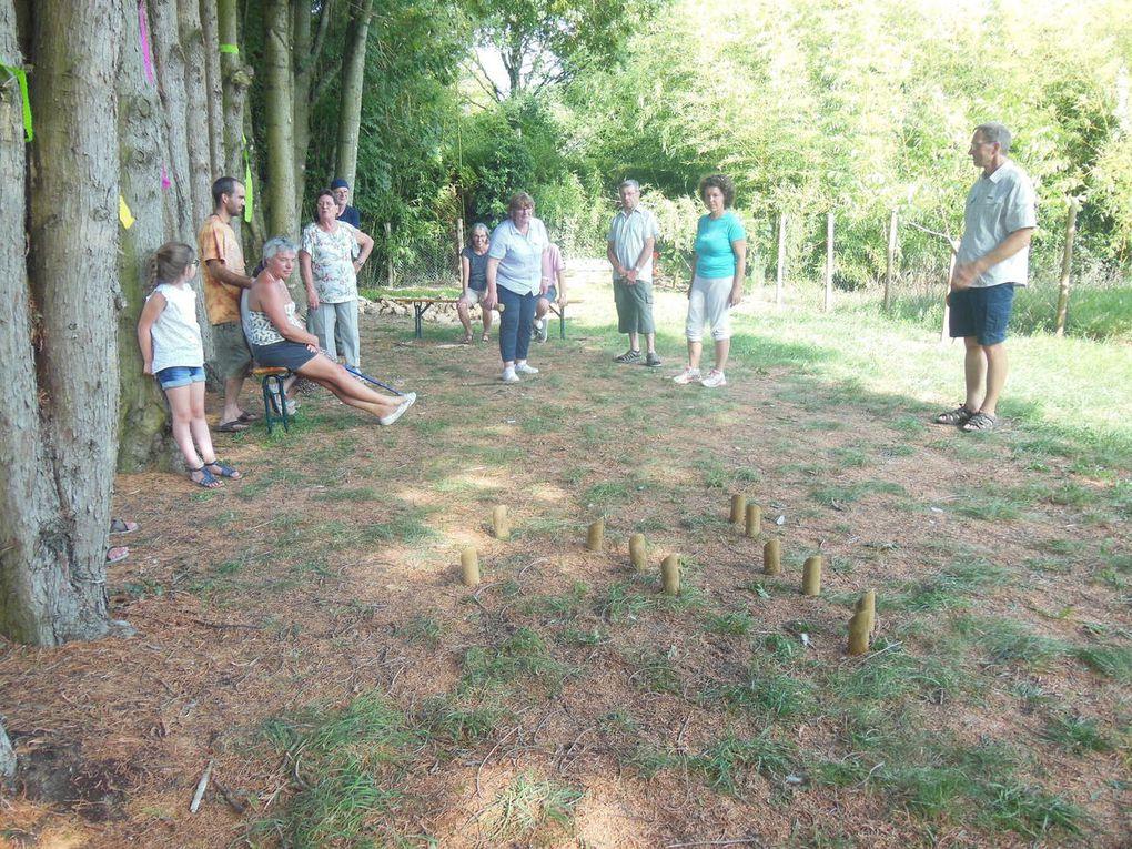 C'était le 27 août : rendez-vous gourmands en Sarthe &quot&#x3B;Les petits plats dans les champs&quot&#x3B; avec le Foyer Rural de Jupilles