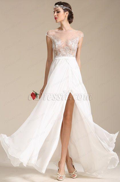 A-line Wedding Dresss Reveal Thrilling Euphemism Sexy