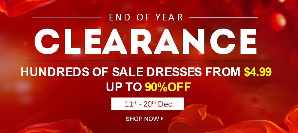 eDressit Grand Clearance at End of Year - Go Go