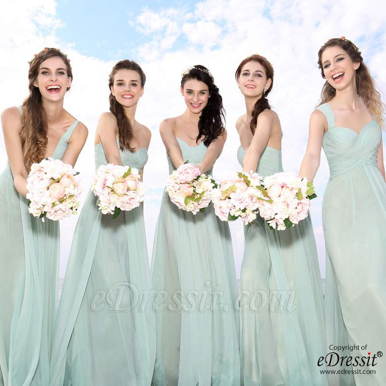 Pastel Color Evening Dresses - Better Wedding and Party Selections