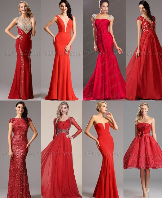 Perfect Valentine's Red Dresses
