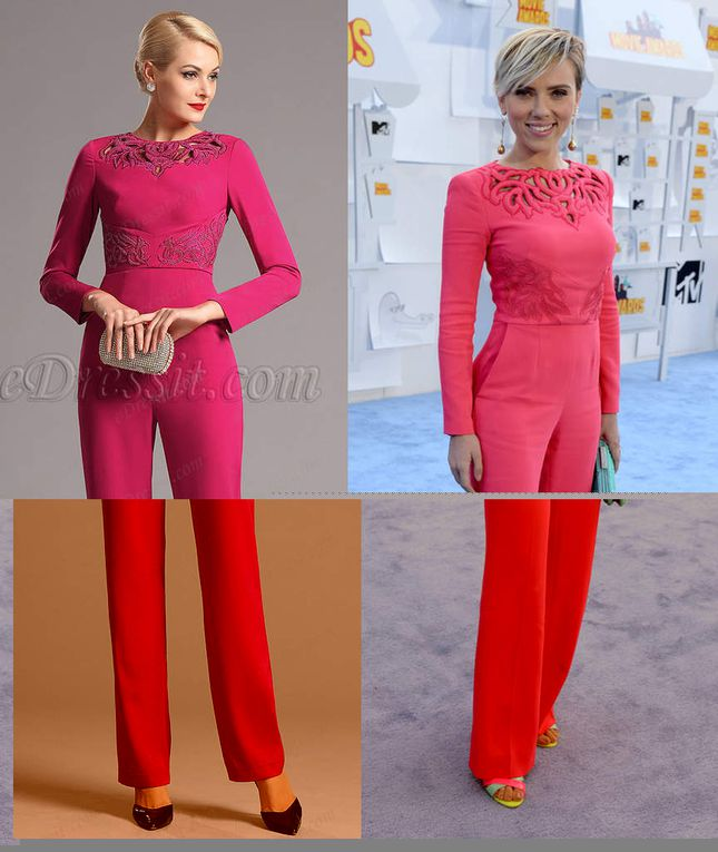 This Hot Pink Evening Attire Makes New Fashion