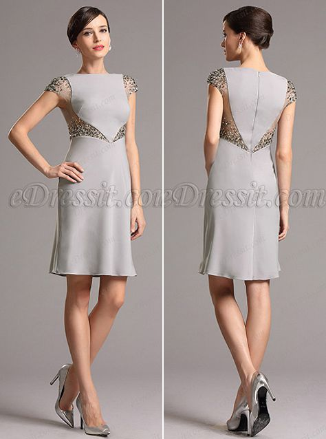 12 Grey Dresses for Prom and Wedding You Shouldn't Miss Out