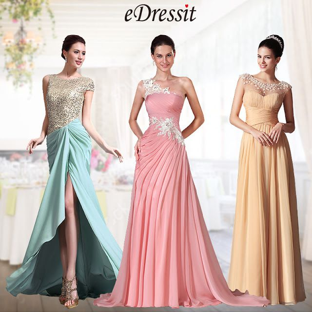 Be Pretty With Trendy Evening Prom Gowns