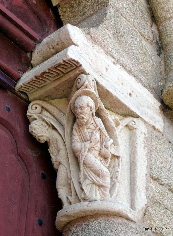 A Vigeois, l'église Saint-Pierre es liens