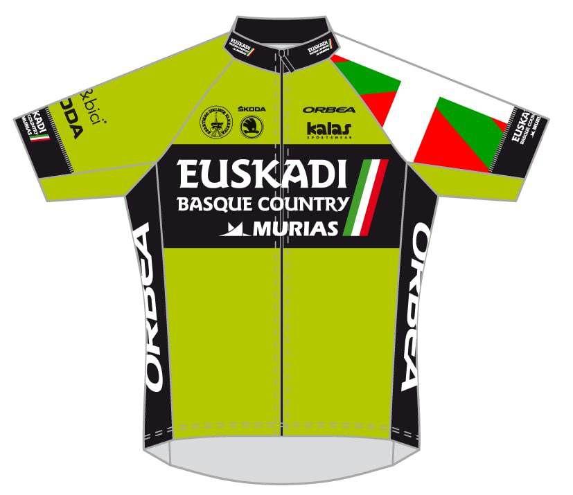 Les maillots des équipes participantes