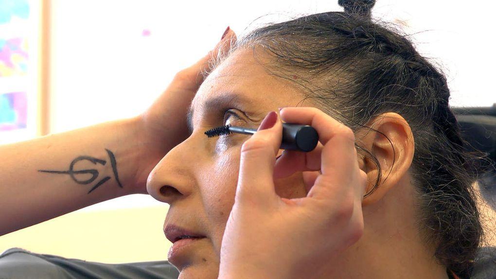 Essais maquillages/coiffures avec Justine Jermer et Arthur Fernandès