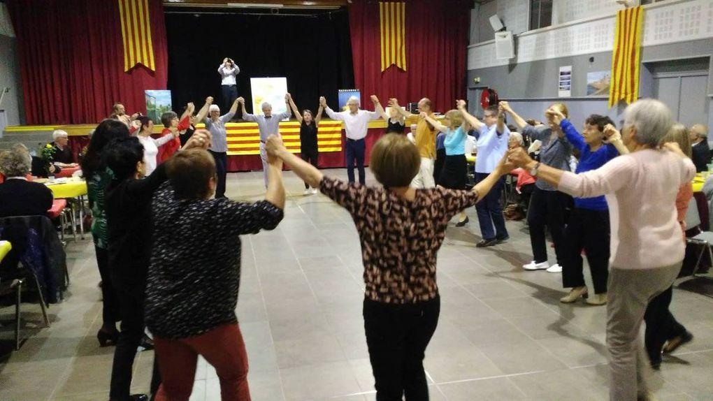 Sardane et Jota pour la San Jordi (Casal Català avril 2017)
