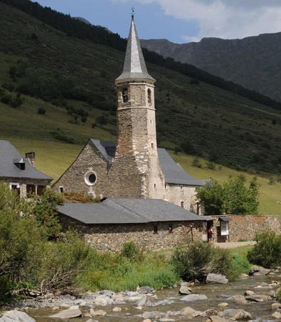 Les clochers du Val d'Aran