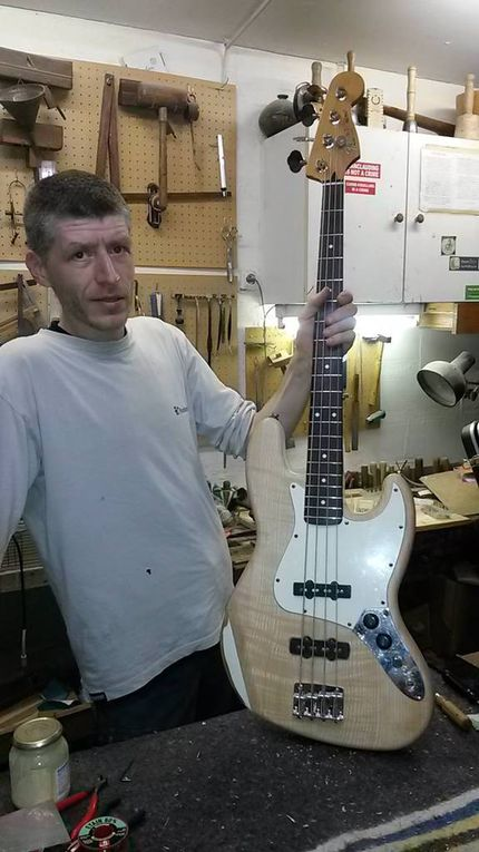 Album - Customisation Fender Jazz bass mexico 1992