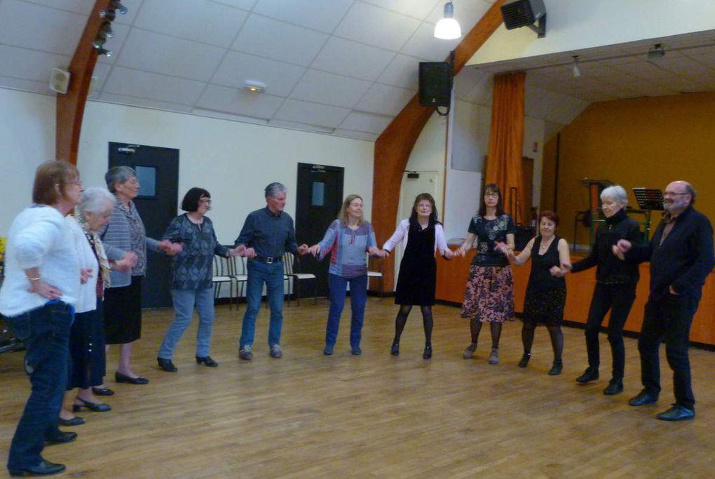 Les Amis de Ti An Diskuizh. Bonne participation au thé dansant