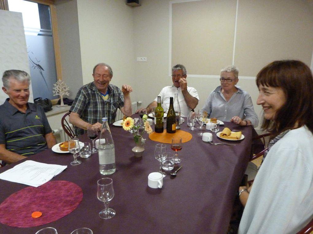 Repas de clôture de fin de saison pour le Cercle celtique Kreiz Breiz de Loudéac