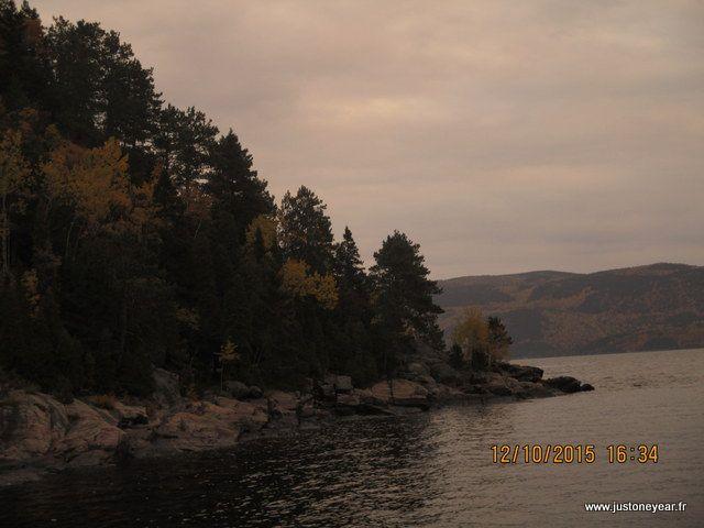 Saguenay lac Saint Jean. Québèc