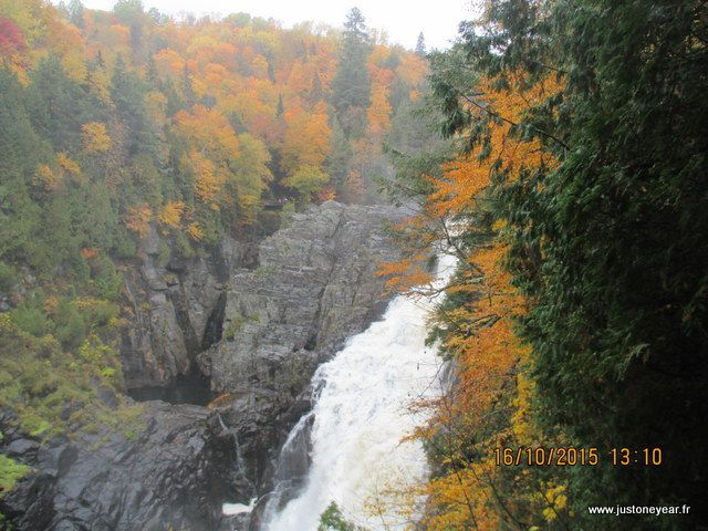 Charlevoix, le canyon Ste Anne