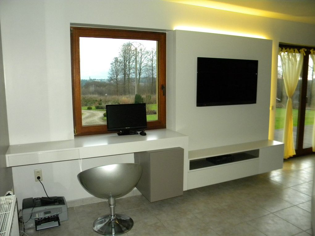 Am nagement int rieur meuble bureau et de passage entre for Amenagement spa interieur