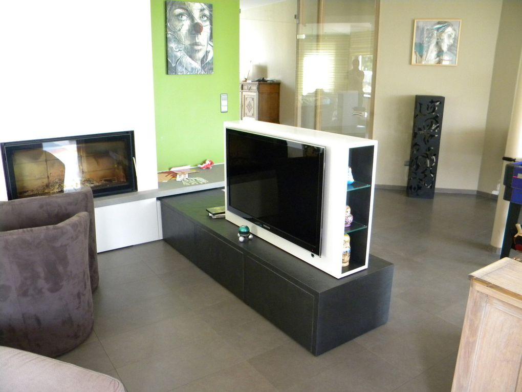 Meuble placage pierre v ritable menuiserie warnimont - Placage pour meuble ...