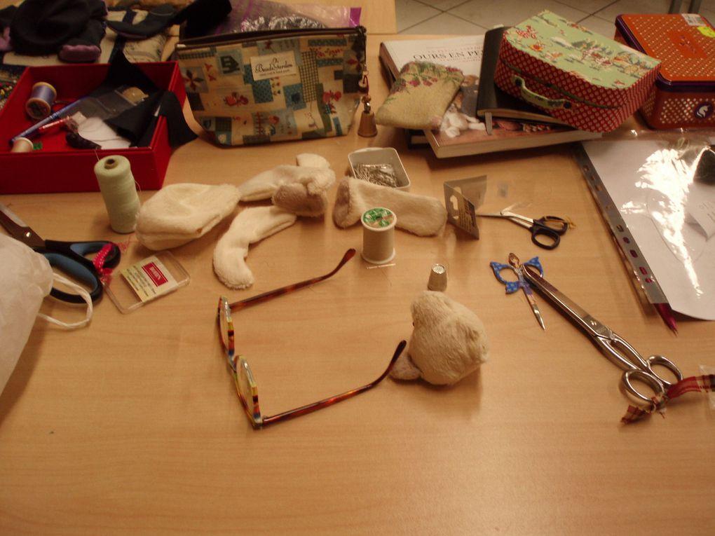 Voici les différentes pièces de nos ours avant la pause de 22h30 / 23h