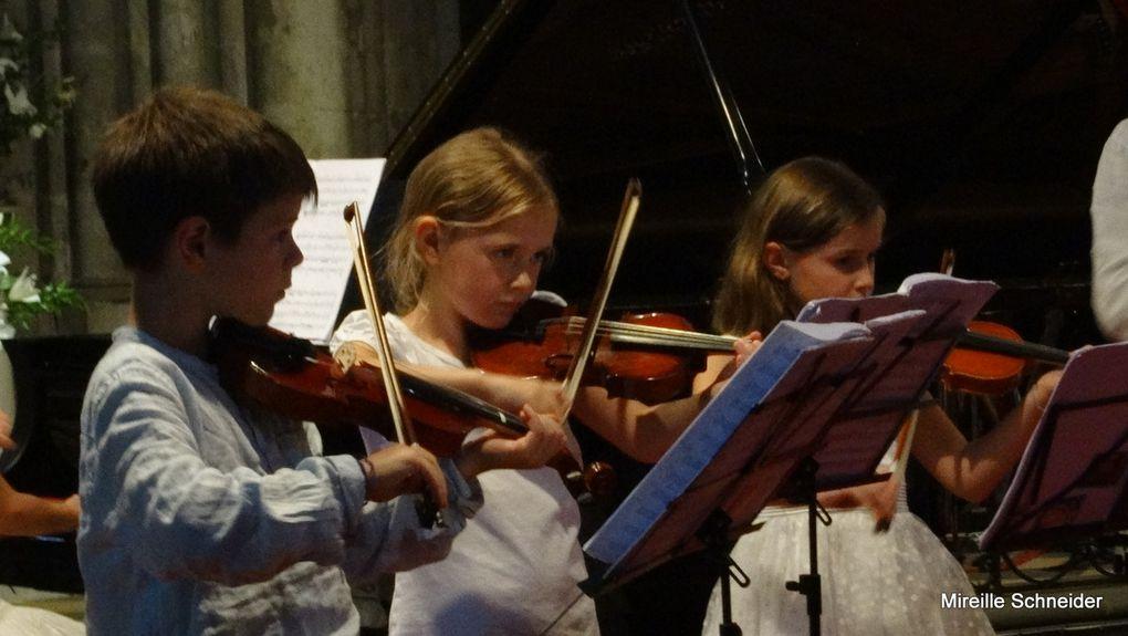 La journée continue de la 29eme édition des Rencontres Musicales de Haute Provence.