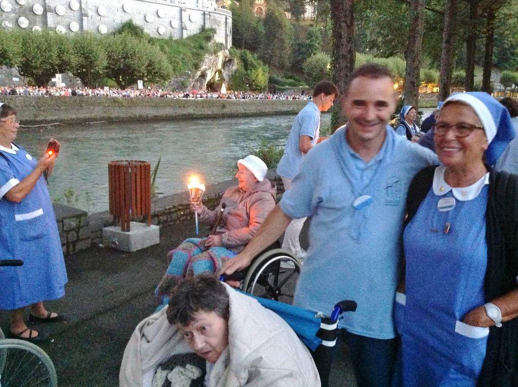 Album - 2014-08-Pèlerinage-Lourdes