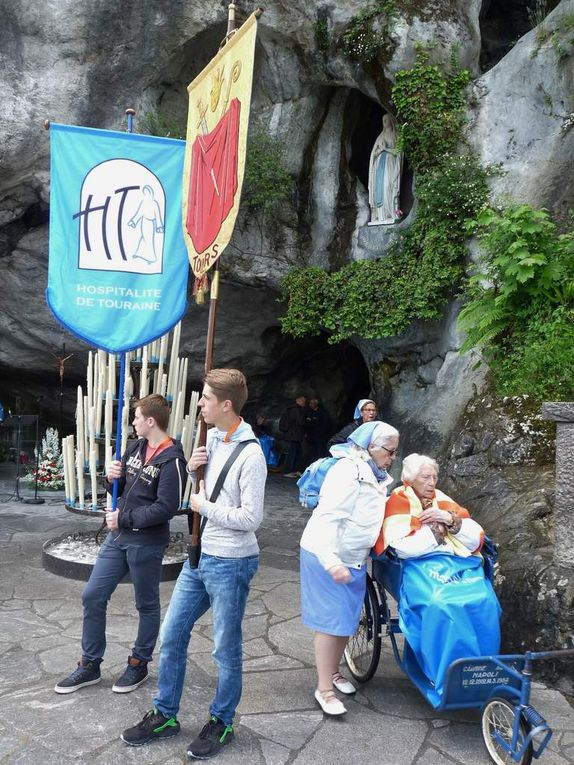 Photos du pèlerinage de mai à Lourdes