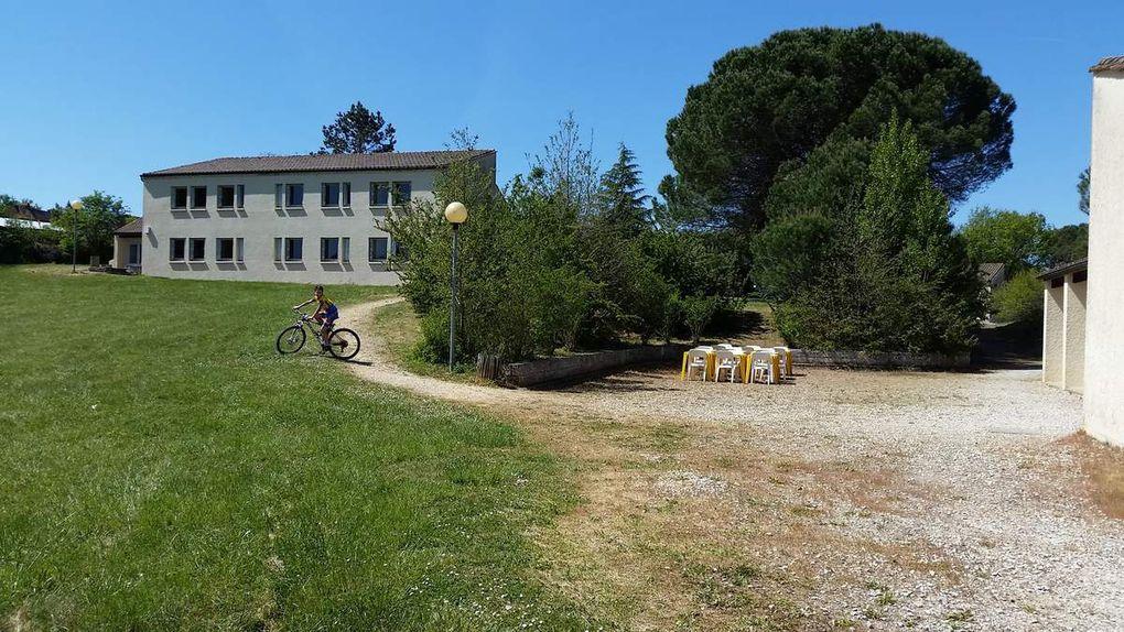 Reconnaissance au centre de vacances de Fontenille(24)