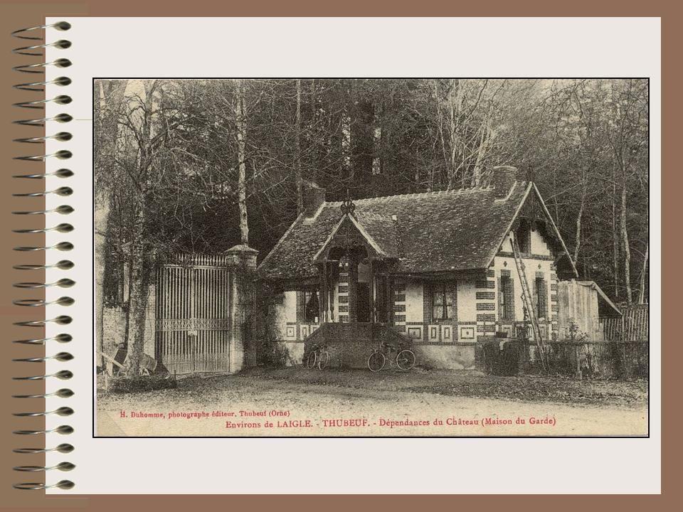 Cartes postales... le château de Thubeuf...