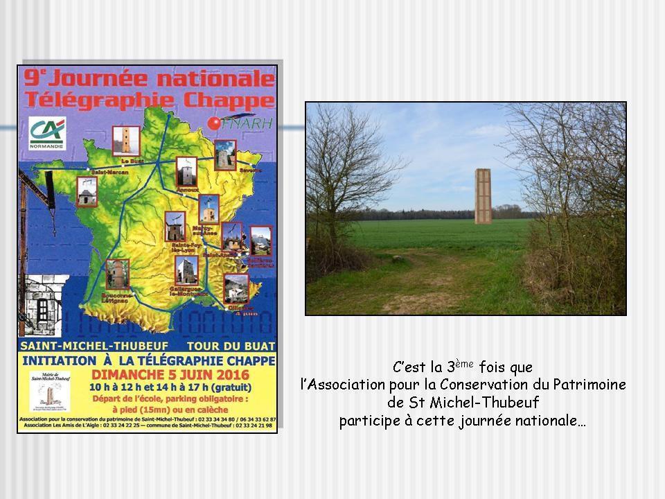 9ème Journée Nationale du Télégraphe Chappe