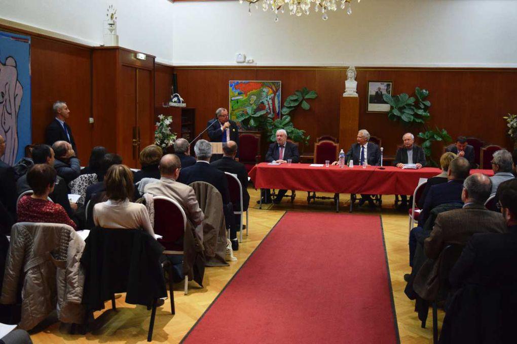 Retour sur la conférence animée par Dominique de Villepin 15 Décembre 2016 à la Mairie de Lyon 8ème avec Cristal Credit